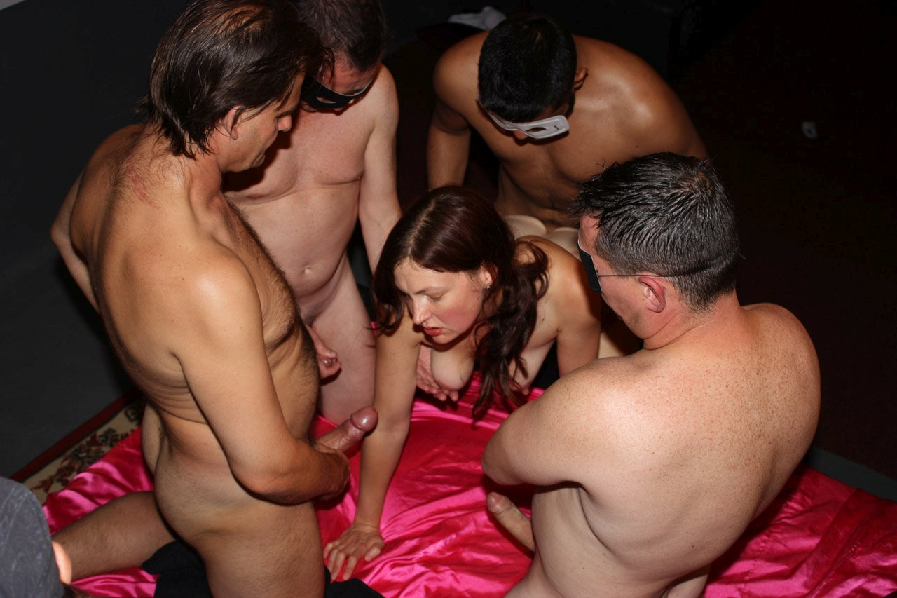 British wife gangbang